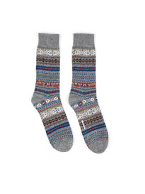 Barbour Boyd Sock Grey