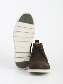 Barbour Burghley Boot Coffee Brown