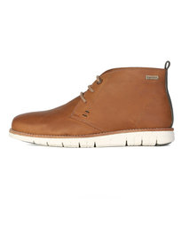 Barbour Burghley Boots Brown