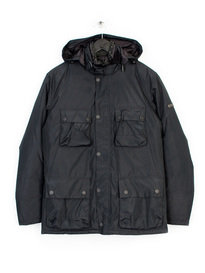 BARBOUR CAPACITOR JACKET BLACK