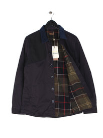 Barbour Clough Overshirt Navy