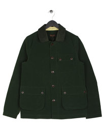Barbour Conniston Button Overshirt Green