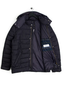 Barbour Cowl Quilted Jacket Navy