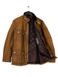 BARBOUR DUKE WAX JACKET BROWN