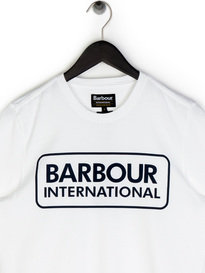 Barbour Essential Large Logo T-Shirt White