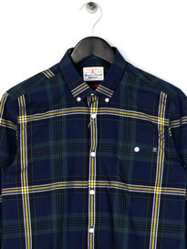 Barbour Fardale Shirt Navy