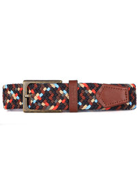 Barbour Ford Belt Multi Navy Mix