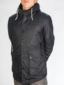 Barbour Game Parka Jacket Navy
