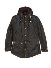 Barbour Game Parka Jacket Olive Green