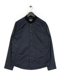 Barbour Haste Bomber Overshirt Black