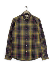 Barbour Herbert Shirt Green