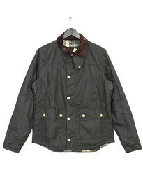 BARBOUR HERITAGE REELIN WAX JACKET SAGE