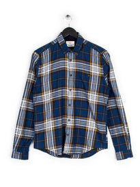 Barbour Heritage Sea Mill Shirt Blue