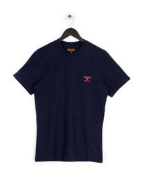 BARBOUR HERITAGE STANDARDS T-SHIRT NAVY