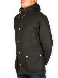 Barbour Hooded Bedale Jacket Sage