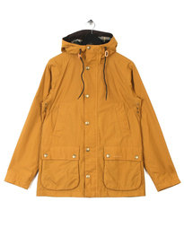 BARBOUR HOODED BEDALE YELLOW