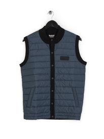 Barbour International Baffle Gilet Petrol Blue