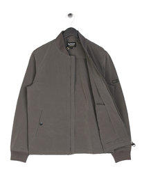 Barbour International Bolt Zip Through Grey