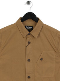 Barbour International Camber Overshirt Sand Brown