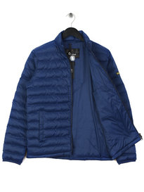 Barbour International Impeller Quilt Jacket Blue