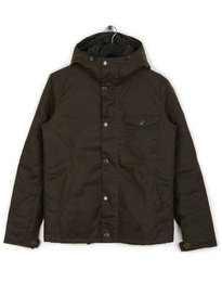 Barbour International Kevlar Wax Jacket Olive