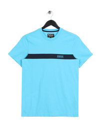 Barbour International Line T-Shirt Blue