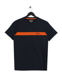 Barbour International Line T-Shirt Navy