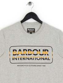 Barbour International Motor T-Shirt Grey