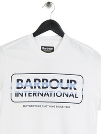 Barbour International Motor T-Shirt White