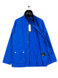Barbour SL Washed Bedale Jacket Blue