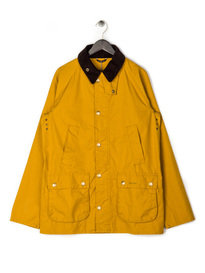 Barbour Japan SL Washed Bedale Jacket Yellow