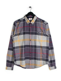 Barbour Johnny Shirt Tartan Shirt Grey