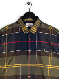 Barbour Johnny Tartan Shirt Green