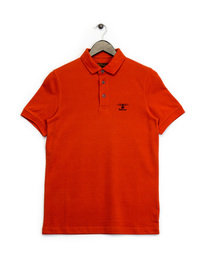 Barbour Joshua Polo Shirt Orange