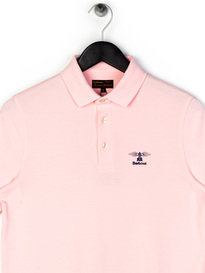 Barbour Joshua Polo Shirt Pink