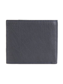 Barbour Leather Billfold Wallet Dark Navy
