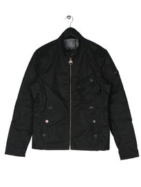Barbour Legion Wax Jacket Black
