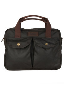 Barbour Longthorpe Laptop Bag Green
