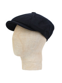 Barbour Melton Bakerboy Cap Navy