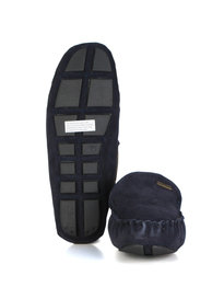 Barbour Monty Slipper Navy