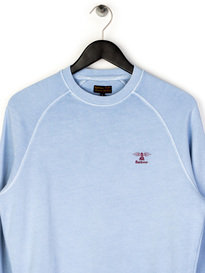 Barbour Pike Crewneck Sweat Blue