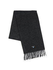 Barbour Plain Lambswool Scarf Grey