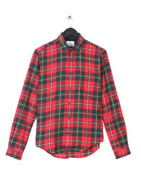 Barbour Sea Mill Shirt Red