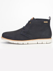 Barbour Burghley Boot Navy