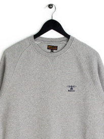 Barbour Standards Crew Sweat Top Grey