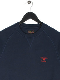 Barbour Standards Sweat Navy