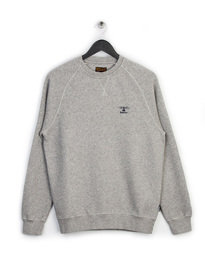 BARBOUR STANDARDS SWEAT TOP GREY