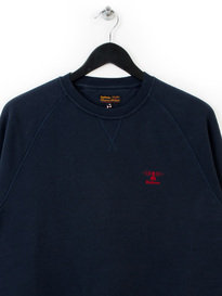 BARBOUR STANDARDS SWEAT TOP NAVY