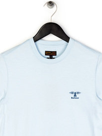 Barbour Standards T-Shirt Light Blue