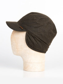 Barbour Stanhope Hunting Cap Olive Green